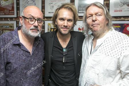 Stock Photo of Lindsay Posner (Director), Florian Zeller (Author) and Christopher Hampton (Translator)