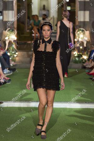 Editorial photo of Aurelia Gil show, Gran Canaria Bridal Fashion Week, Canary Islands - 07 Oct 2017