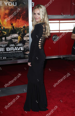 Editorial photo of 'Only the Brave' film premiere, Arrivals, Los Angeles, USA - 08 Oct 2017
