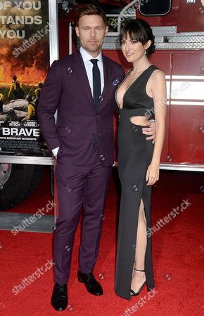 Scott Haze and Lulu Jovovich