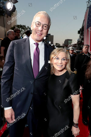 Mark Ostroff and Dawn Ostroff, Producer and President, CondŽ Nast Entertainment