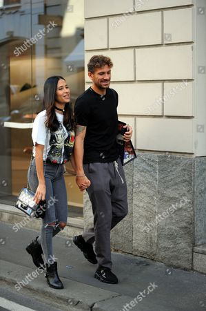 Alessio Cerci and wife Federica Riccardi