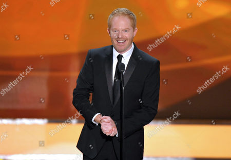 """Actor Jesse Tyler Ferguson from the ABC comedy series """"Modern Family,"""" on stage at the 19th Annual Screen Actors Guild Awards at the Shrine Auditorium in Los Angeles. The Public Theater announced Tuesday that the 'Modern Family'? actor will play Dromio opposite Hamish Linklater's Antipholus for five weeks at the Delacorte Theatre starting May 28. Daniel Sullivan will direct"""