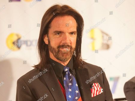 Video gamer Billy Mitchell appears at the PAC-MAN's Official 35th Birthday Celebration in Schaumburg, Ill. On Friday, Nov. 20, New Jersey Federal District Judge Anne Thompson threw out Mitchell's lawsuit against the Cartoon Network claiming that a cartoon character portraying him as a bearded, floating head stole his likeness. The court ruled the show is protected by the First Amendment