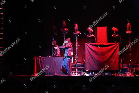 Party Next Door performing at Philips Arena, in Atlanta