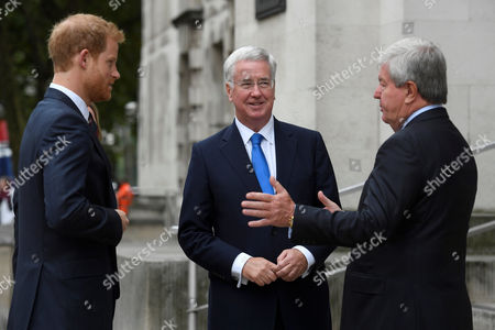 Editorial image of MOD and Royal Foundation launch new partnership to improve mental health, Ministry of Defence, London, UK - 09 Oct 2017