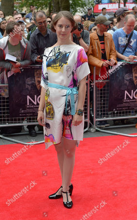 Katherine Manners attends the premier of Now in London on