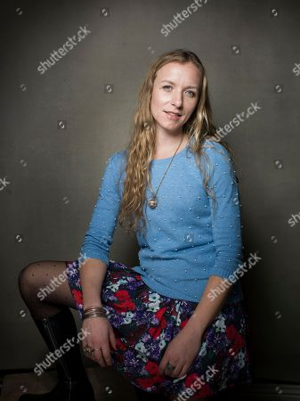 """Director Christina Voros from the film """"Kink,"""" poses for a portrait during the 2013 Sundance Film Festival, on in Park City, Utah"""