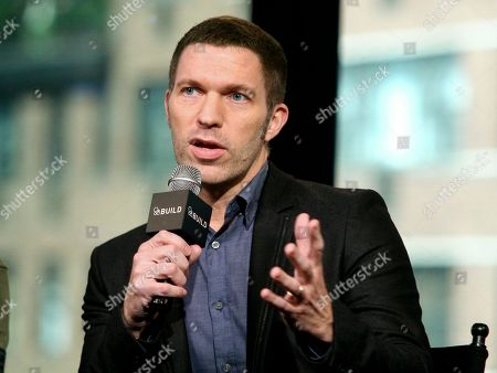 President and CEO of LAIKA Travis Knight participates in AOL's BUILD Speaker Series to discuss the film Kubo and the Two Strings at AOL Studios, in New York