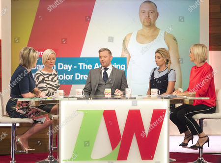 Ruth Langsford, Denise Van Outen, Darren Day, Stacey Solomon and Jane Moore