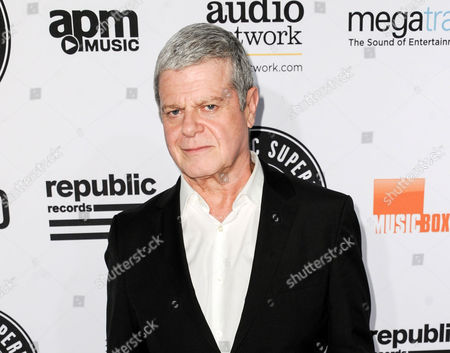 Gustavo Santaolalla arrives at the 5th Annual Guild Of Music Supervisors Awards in Los Angeles. He is nominated for two Latin Grammys, producer of the year and best instrumental album, for Caminoâ
