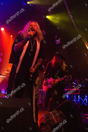 Nathan James and Andreas Eriksson of Inglorious