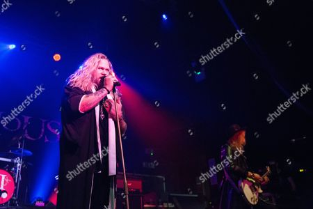Editorial image of Inglorious in concert, Newcastle, UK - 08 Oct 2017