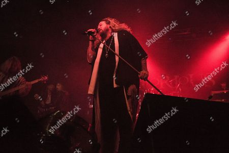 Editorial picture of Inglorious in concert, Newcastle, UK - 08 Oct 2017