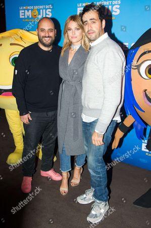 Editorial image of 'The Emoji Movie' film premiere, Paris, France - 08 Oct 2017