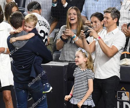 Neil Patrick Harris, David Burtka with son Gideon Burtka-Harris and daughter Harper Burtka-Harris