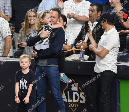Stock Photo of Neil Patrick Harris, David Burtka with son Gideon Burtka-Harris and daughter Harper Burtka-Harris