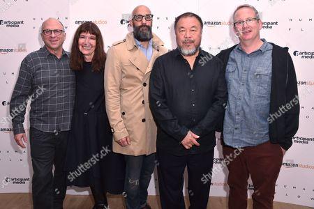 Bob Berney, Diane Weyermann, Jason Ropel, Ai Weiwei and Ted Hope