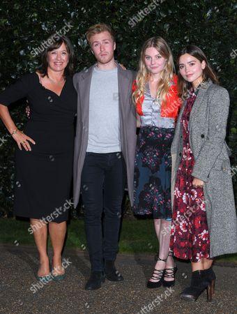 Daisy Goodwin, Jordan Waller, Nell Hudson and Jenna Coleman