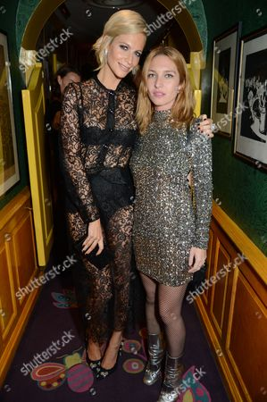 Poppy Delevingne and Josephine De La Baume