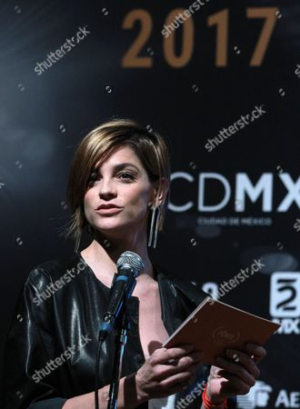 Editorial picture of 2017 Fenix Awards nominees are announced  in Mexico City - 09 Oct 2017