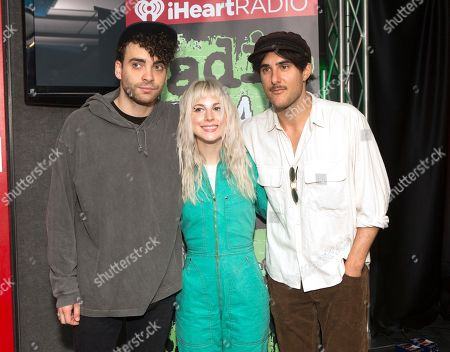 Paramore - Taylor York, Hayley Williams and Zac Farro