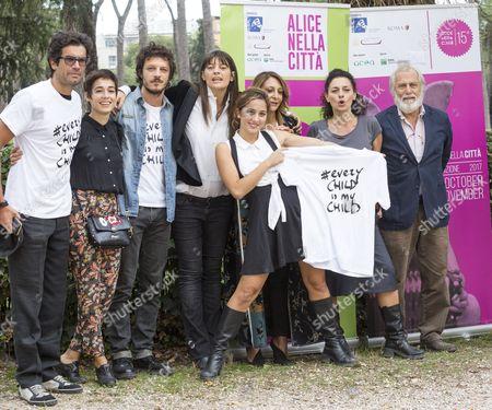 Marco Bonini, Diane Fleri, Andrea Bosca, Fabia Bettini, Blue Yoshimi, Paola Minaccioni, Lidia Vitale, Luigi Diberti and Anna Foglietta