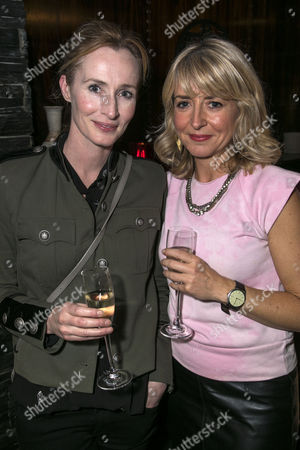 Stock Photo of Genevieve O'Reilly and Alecky Blythe
