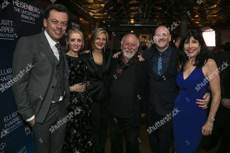 Simon Stephens (Author), Anne-Marie Duff (Georgie Burns), Marianne Elliott (Director), Kenneth Cranham (Alex Priest), Chris Harper (Producer) and Catherine Schreiber (Producer)