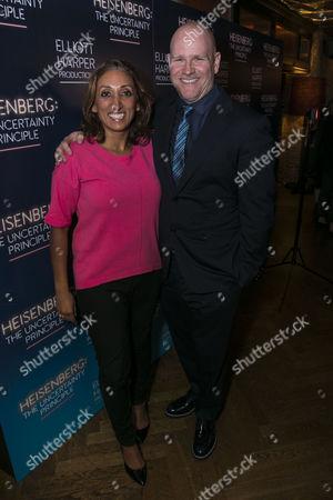 Shazia Mirza and Chris Harper (Producer)
