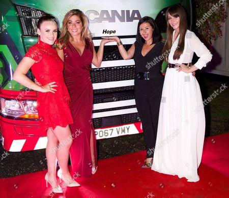 Ellie Leach, Nikki Sanderson, Hayley Tamaddon and Brooke Vincent