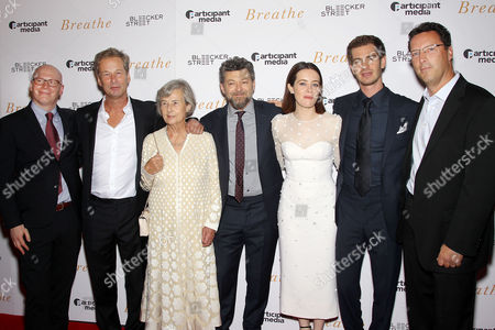 Editorial photo of New York Special Screening of 'BREATHE' Hosted by Bleecker Street and Participant Media, USA - 09 Oct 2017
