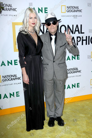 Courtney Anne Mitchell and Corey Feldman