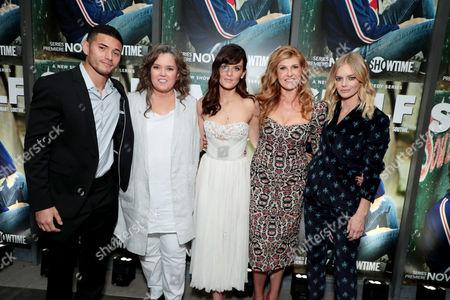 Miguel Gomez, Rosie O'Donnell, Frankie Shaw, Connie Britton, Samara Weaving