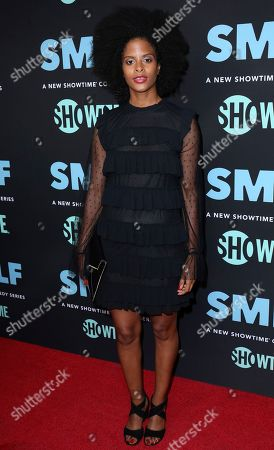 """Editorial picture of LA Premiere of """"SMILF"""", Los Angeles, USA - 09 Oct 2017"""