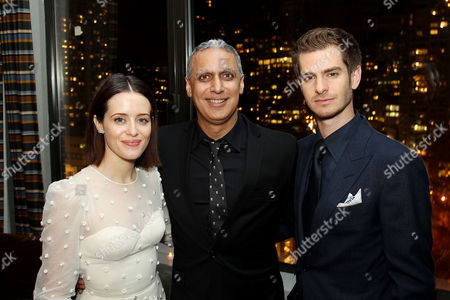 Claire Foy, Nitin Sawhney (Composer), Andrew Garfield