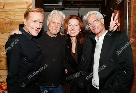 Randy Kleiser, Bruce Davison, Tanna Frederick and Harry Hamlin, at the Indiewire Photo Studio at Chase Sapphire on Main during the 2016 Sundance Film Festival in Park City, Utah