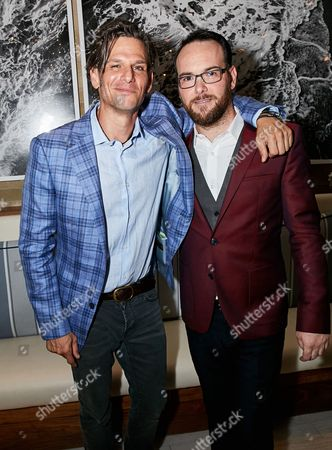 R2 Entertainment co-President Mark Kassen and Relativity Motion Picture & Television Group President Dana Brunetti seen at R2 happy hour event at 2016 Toronto International Film Festival, in Toronto, Ont