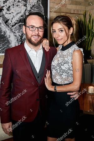 Relativity Motion Picture & Television Group President Dana Brunetti and Bella Tartarian seen at R2 happy hour event at 2016 Toronto International Film Festival, in Toronto, Ont