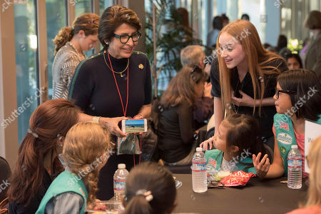 Editorial picture of Netflix and Girl Scouts STEM Event, Los Gatos, USA