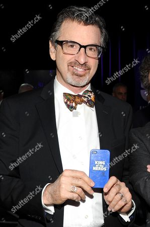 "King of the Nerds"" co-hosts Robert Carradine attends the TNT and TBS 2013 Upfront at the Hammerstein Ballroom in New York. Authorities say Carradine has paid a fine for careless driving stemming from the car crash that left him injured. Sgt. Rob Madden, a spokesman for the Colorado State Patrol said that the 61-year-old actor mailed in a $169.50 payment after he was ticketed for crashing into a tractor-trailer on a highway March 5, 2015"