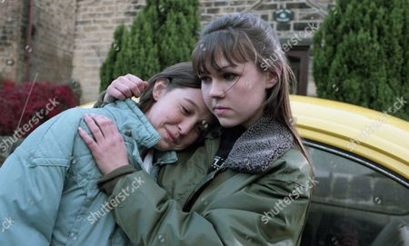 Ep 2164 Tuesday 11th February 1997 With Tom losing his job because of his affair with Kelly, they plan to leave Emmerdale together. Kelly meets up with Donna to say a final goodbye - With Kelly Windsor, as played by Adele Silva ; Donna Windsor, as played by Sophie Jeffrey.