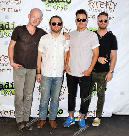 Editorial photo of The Fray in concert - , Philadelphia, USA
