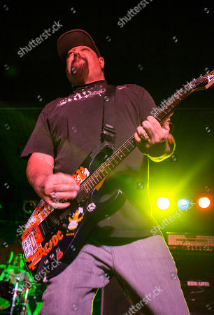 Fletcher Dragge with Pennywise performs at the Masquerade, in Atlanta