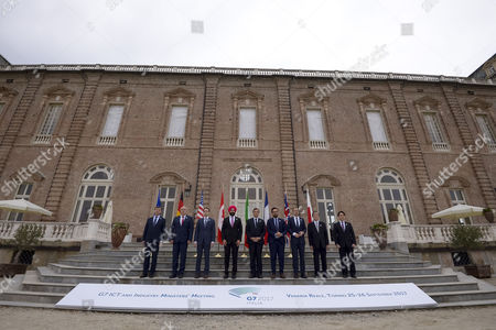 Editorial picture of G7 ITC and Industry Ministers meeting,Turin, Italy - 26 Sep 2017