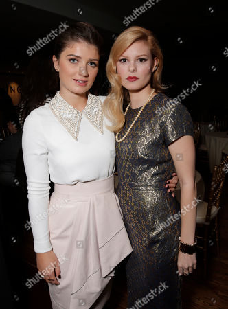 """Eve Hewson and Tracey Fairaway are seen at Fox Searchlight's Premiere of """"Enough Said"""", on Saturday, September 7th, 2013 in Toronto, Canada"""