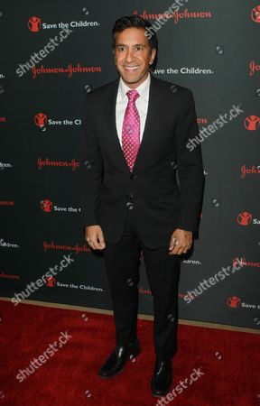 Doctor Sanjay Gupta attends the Save the Children 3rd Illumination Gala at The Plaza Hotel, in New York