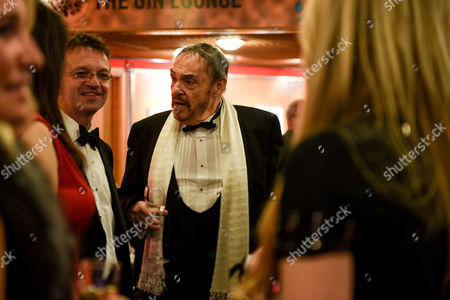 Editorial picture of British Academy Cymru Awards, Champagne Reception, St David's Hall, Cardiff, Wales, UK - 08 Oct 2017