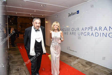 Stock Picture of John Rhys-Davies and Angharad Mair