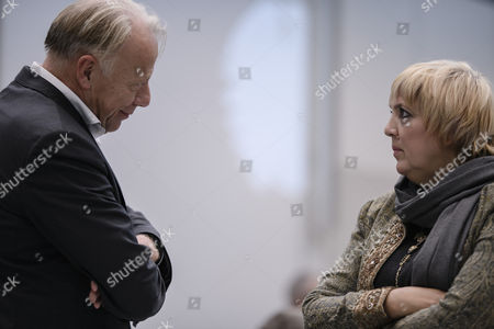 Claudia Roth and Juergen Trittin